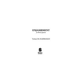 ENJAMBMENT