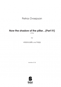 Now the shadow of the pillar...(Part IV)