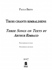 Trois chants rimbaldiens image