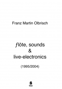flöte, sounds & live-electronics image