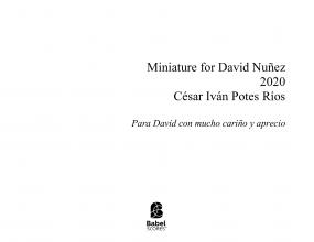 Miniature for David Nuñez
