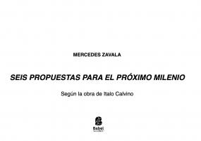 SEIS PROPUESTAS PARA EL PRÓXIMO MILENIO