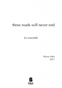 These roads will never end