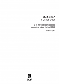 Studio no. 1