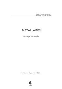 Metallages