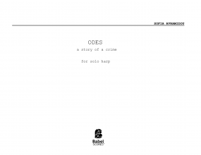 Odes-a story of a crime