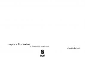 Trapos e fios soltos, para saxofone alto e percussão (2004)
