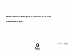 the task of interpretation z