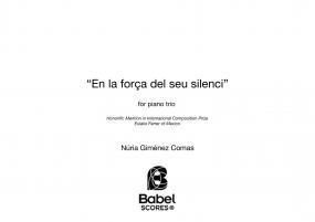En la força del seu silenci