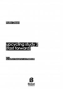 upcycling study 2 (fast forward)