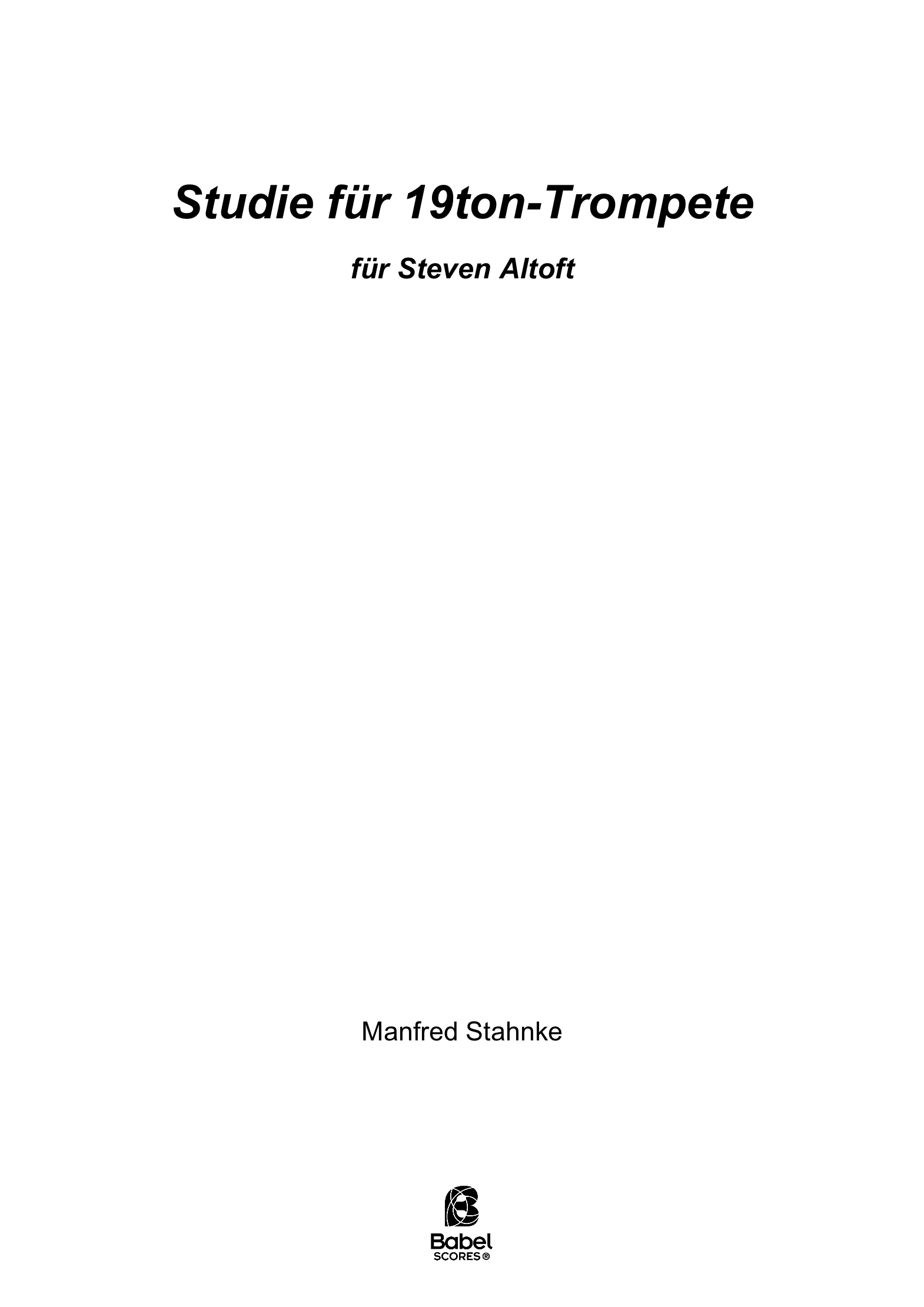 study for 19tone trumpet A4 z 2 263 1 923