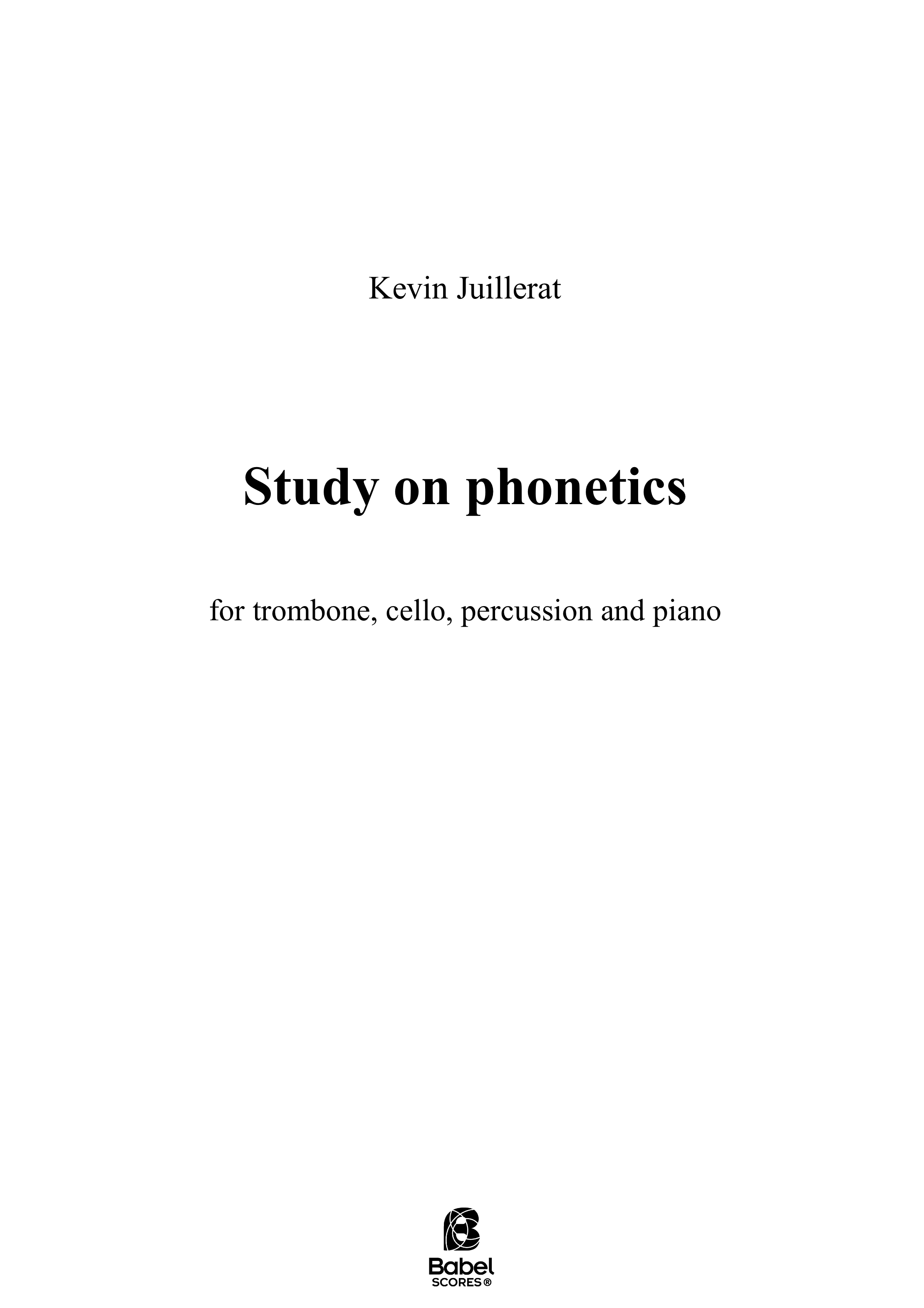 study on phonetics A3 z